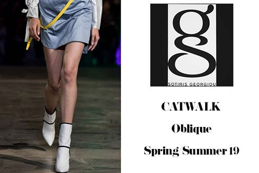 Makris official for OBLIQUE catwalk Sotiris Georgiou