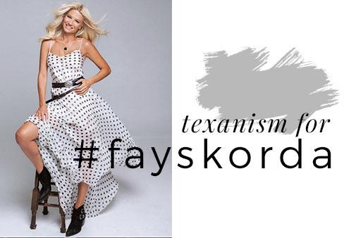 #FaySkorda in  texanism Makris